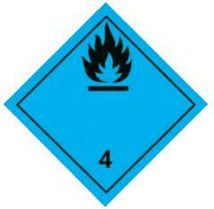 CLASSE 4:SVILUPPO GAS INFIAMM A CONTATTO CON ACQUA